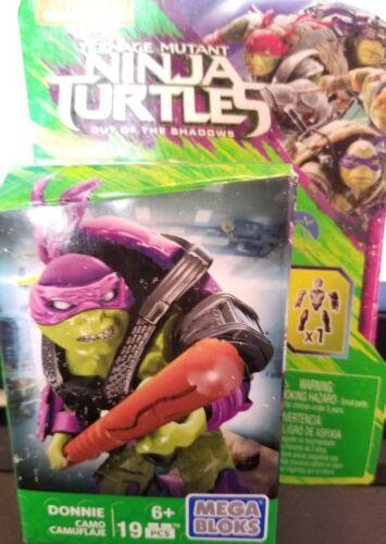 Mega Bloks DONNIE Teenage Mutant Ninja Turtles 16 Piece Construction NEW