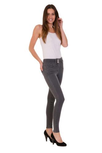 Ex M/&S Jeggings Ladies Women Denim Stretchy Pull On Sculpt /& Lift Pants Legging