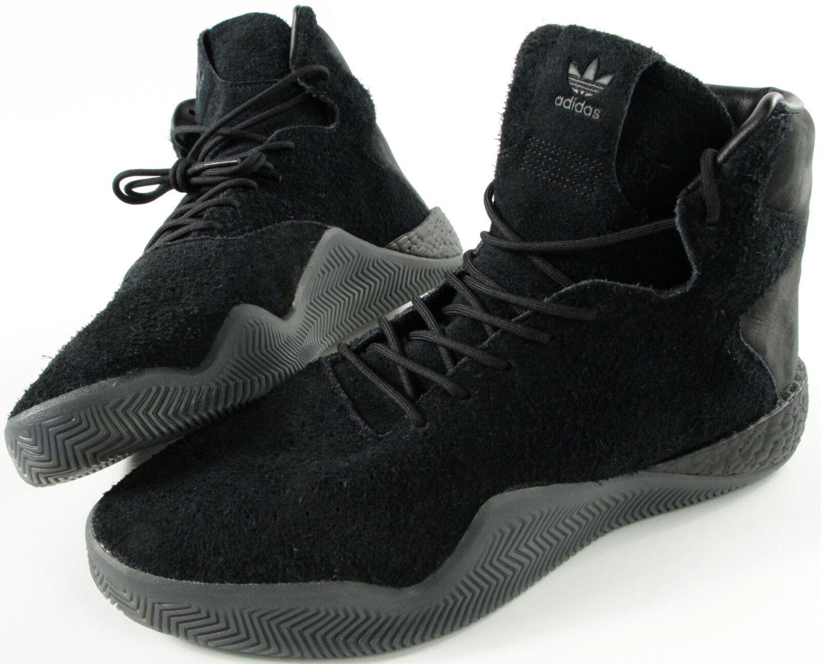 ADIDAS ORIGINALS Tubular Instinct BOOST all black shoes- 12.5- NEW- basketball-