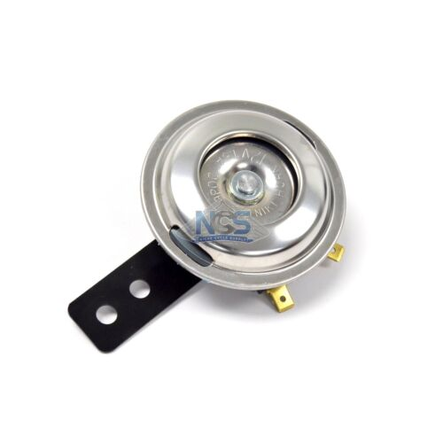 Universal Motorcycle Horn Stainless// 70mm 12 Volt