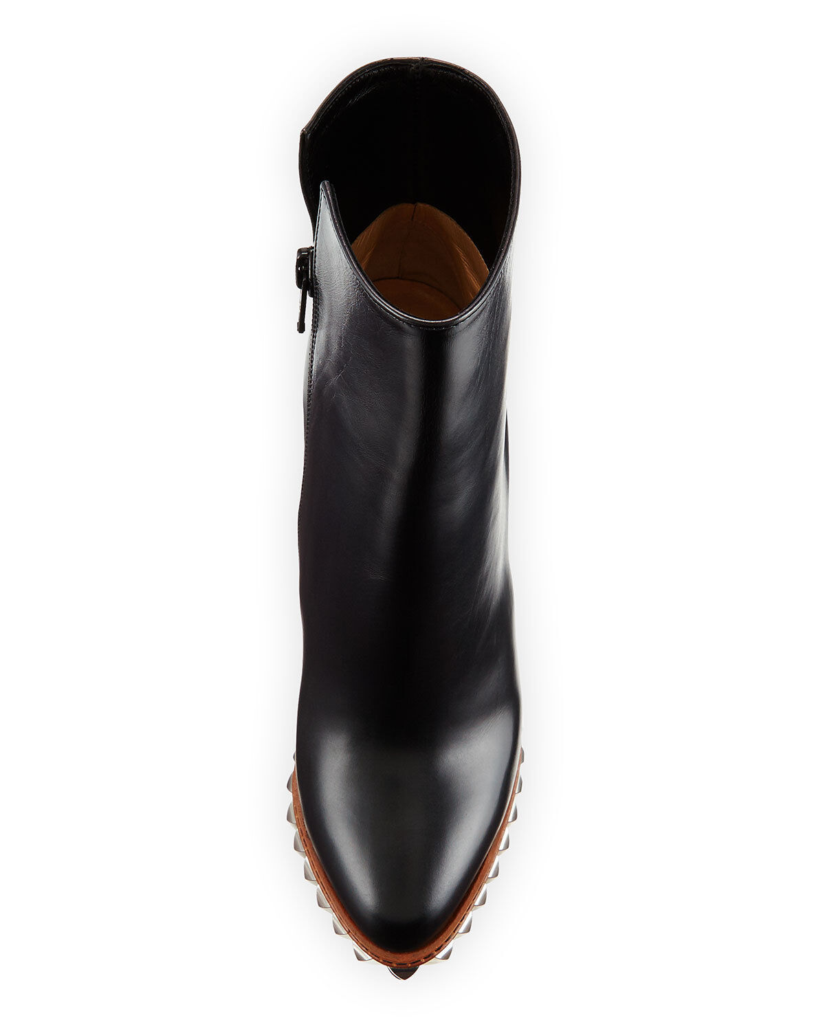 09bc4603d6f 100 Auth Women Louboutin Faolo Pyramid Stud Platform Boots/bootie US 6.5