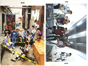 STRAY-KIDS-KPOP-I-am-WHO-Mini-Album-Official-Postcard-Book-Sticker