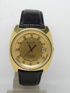 Montre-LONGINES-CONQUEST-electrronic-plaque-or-vers-1970-vintage-LONGINES