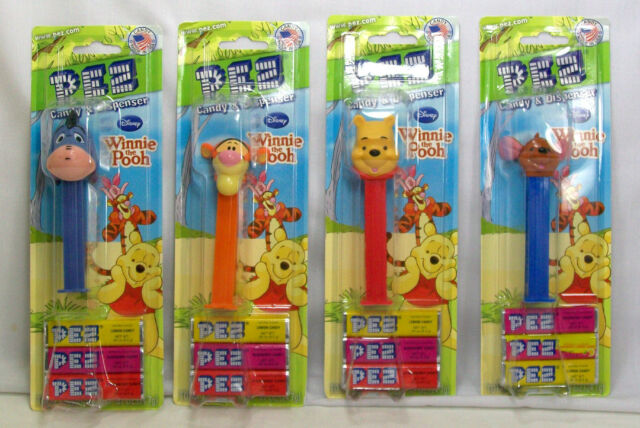blue pack PEZ Piglet from Winnie the Pooh Brand New and Sealed