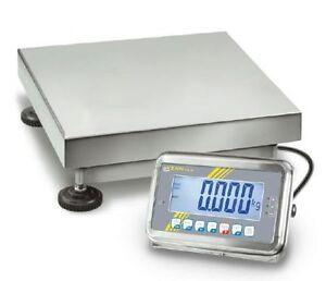 Balance-plate-forme-Acier-inox-IP65-Protection-10g-100kg-KERN-SFB-100K-2XL