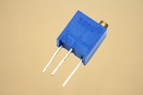 Potenciómetro de precisión multiespira recorte 3266 W 500R 3266-W501 Ajustable 5 un