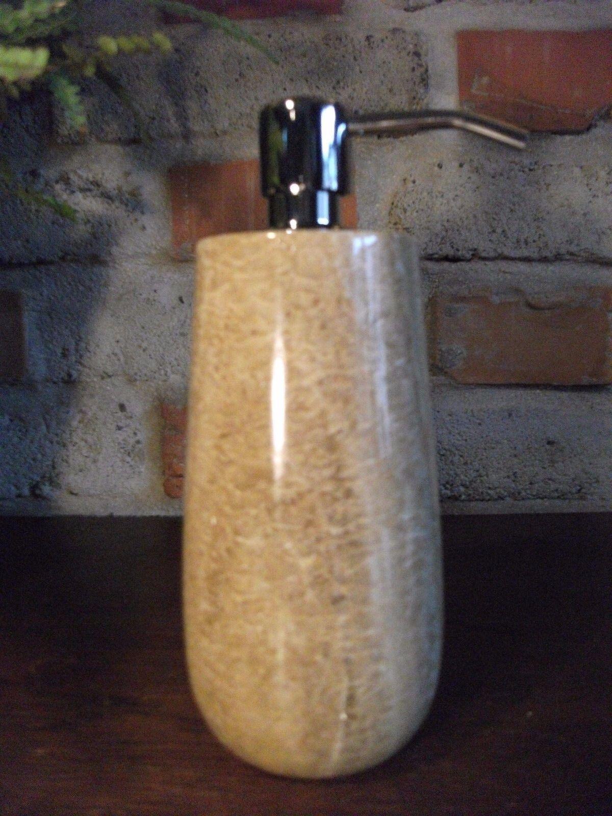 Seifenspender Seifenspender Seifenspender Onyx Natur Stein Behälter  Indonesien Bali ef26bd