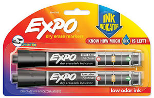 EXPO-Dry-Erase-Markers-Chisel-Tip-with-Ink-Indicator-Black-Low-Odor-Ink
