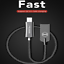 Mcdodo-Micro-USB-3-0-Fast-Charger-Data-Sync-Cable-Cord-Samsung-Android-HTC-LG thumbnail 2