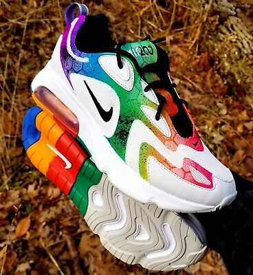 New CUSTOM Nike Air Max 200 Rainbow