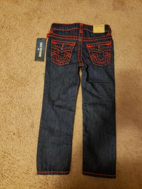 56b9204e20899 Buy True Religion Boys Size 5 Geno Super T Jeans online | eBay