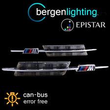 2X Pour BMW 1 Série E81 E82 E87 E88 2004-14 Clear Amber DEL side Repeater Lampe