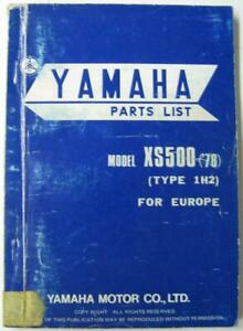 YAMAHA-XS500-039-78-Type-1H2-for-Europe-1977-Illustrated-Motorcycle-Parts-List