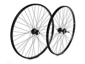 Tru-build-Wheels-Front-MTB-wheel-nutted-black-Black-26-inch-RGH811