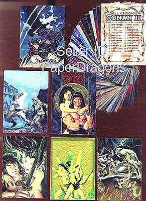 Series 1-90 Card Art Set FREE US Priority Mail Shipping BORIS VALLEJO 1