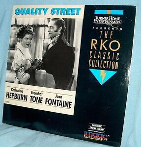 LD-laserdisc-RKO-37-QUALITY-STREET-Katherine-Hepburn-Franchot-Tone-Joan-Fontaine
