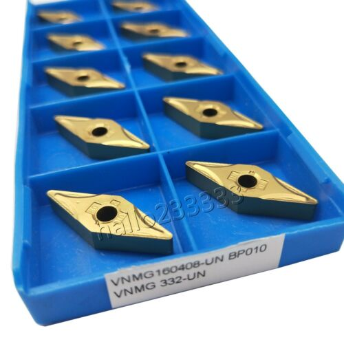 Details about  /VNMG160408-UN BP010 VNMG332 Indexable CNC Carbide Turning Insert For MVJNR holde