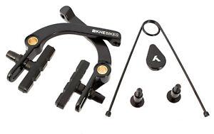 KHE-BMX-U-Bremse-U-Brake-Aluminium-schwarz-mit-Springhanger-Feder