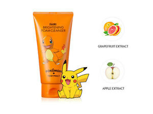 US-Seller-TONYMOLY-X-Pokemon-Charmander-Brightening-Foam-Cleanser-150ml-Fairi