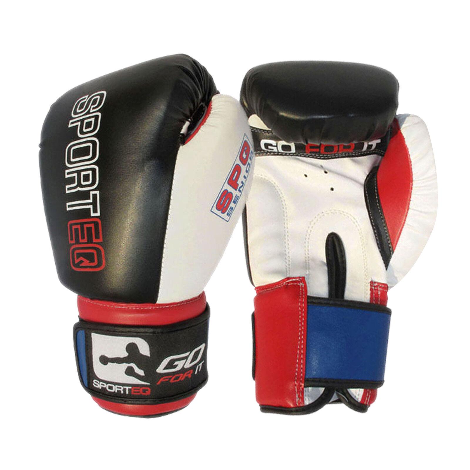 Sporteq Kinder PRO Boxen Sparringshandschuhe, PREMIUM MMA Training 4oz - 16oz