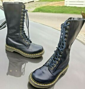 Details about Dr Martens 1B99 dress blues buttero pascal leather boots UK 4 EU 37