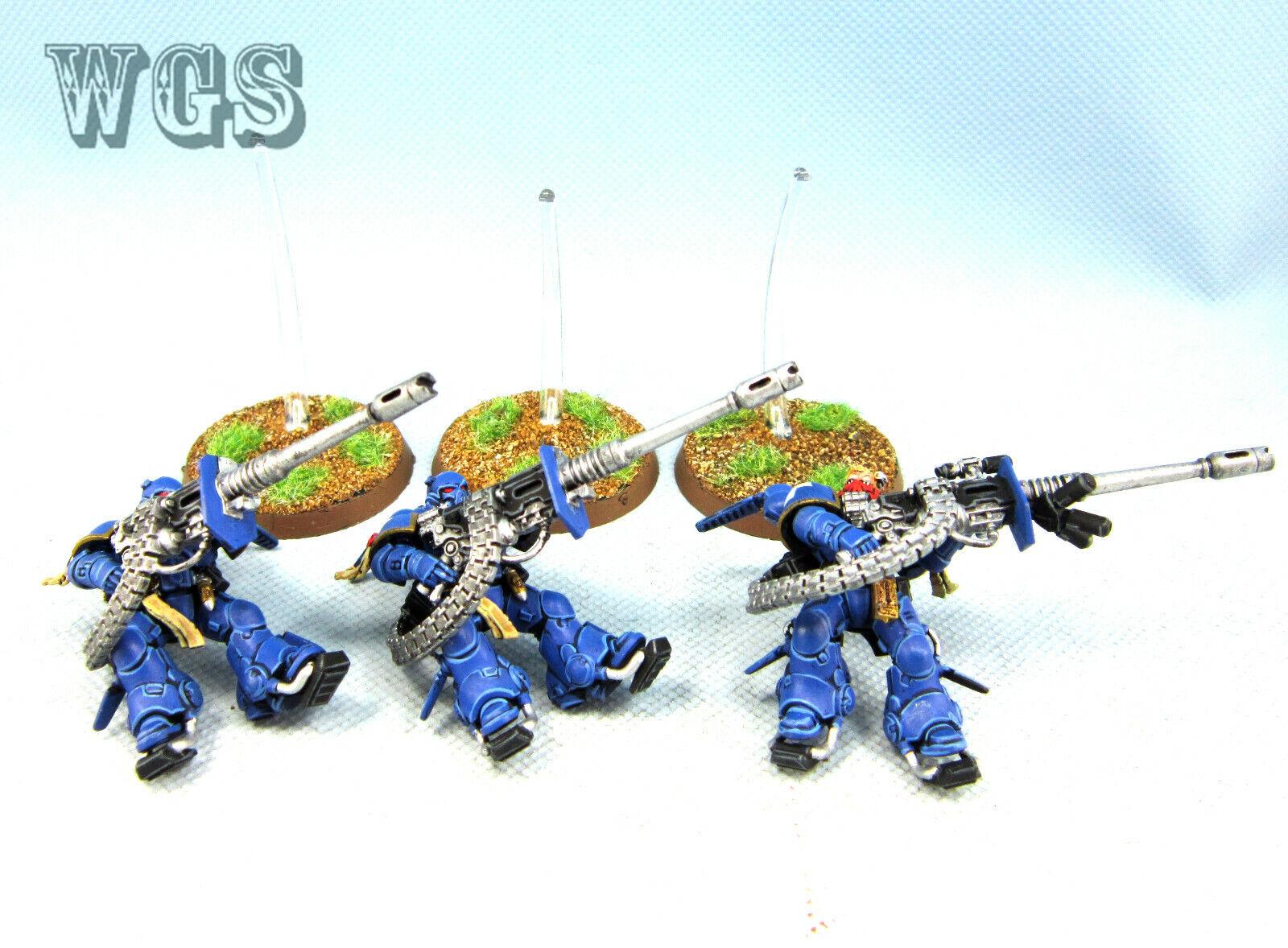 Warhammer 40K WGS  painted spazio Marine Suppressors SM068  edizione limitata