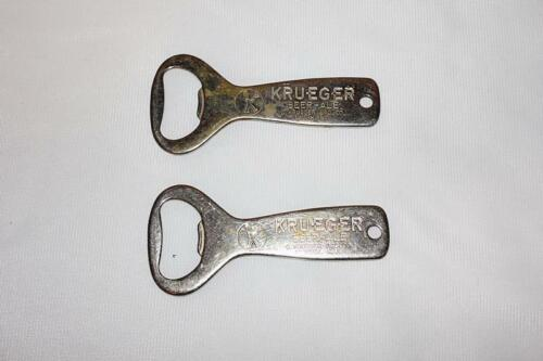 Lot of 2 Krueger Beer and Ale Over the Top Bottle Openers K-Man