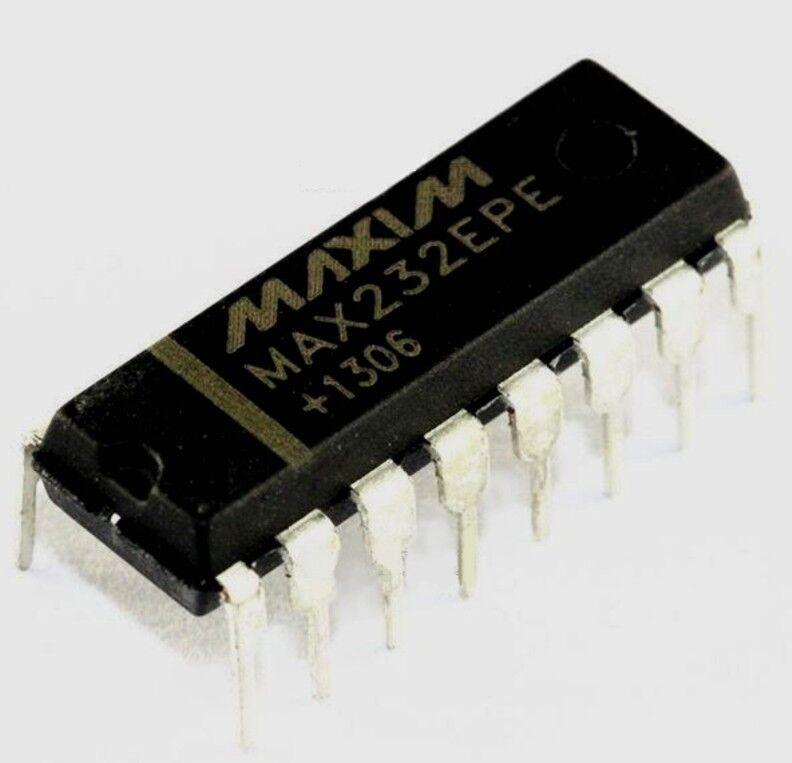 MAX232 10PCS RS-232 Drivers//Receivers IC MAXIM DIP-16 MAX232CPE MAX232CPE