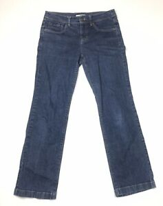 Jones-New-York-Sport-Womens-Size-6-Blue-Denim-Jeans-Stretch-Pants