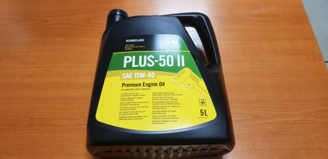 John Deere Plus 50 Multi Purpose Engine Oil 5 Litres VC50002X005 SAE 15w40