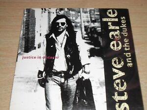 Steve-Earle-amp-The-Dukes-Justice-In-Ontario-CD-Single-in-Card-Sleeve-DMCAT-1441