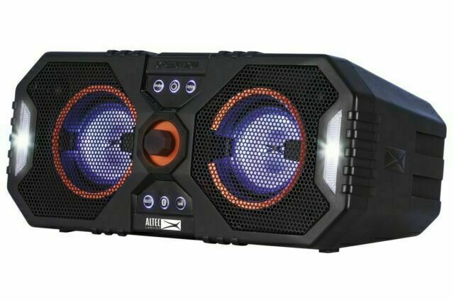Altec Lansing XPEDITION 10 Portable Bluetooth Speaker - Black