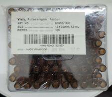 Kimble 60805 G Autosampler Amber Glass Vials 12 X 32 Mm 18 Ml Pkg Of 100