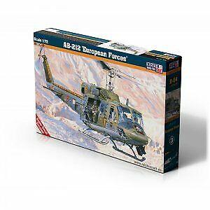 """Mistercraft D-54-1:72 AB-212 /""""European Forces/"""" Neu"""