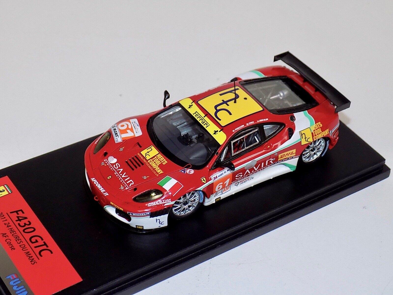 1 43 TSM Fujimi Ferrari F430 GTC 2011 Le Mans AF Corse  61