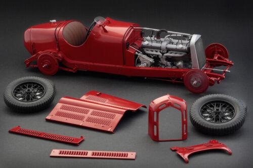 Alfa Romeo 8C 2300 Monza 1:12 Plastic Model Kit ITALERI