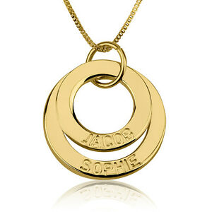 personalized engraved 24k gold plated necklace 2