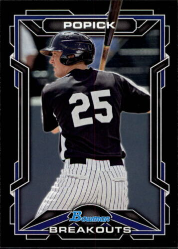 2013 Bowman Draft Scout Breakouts BB C31 Pick Card From List