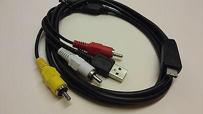 Optio H90 CAMERA USB DATA SYNC CABLE PENTAX Optio E80 LEAD FOR PC AND MAC