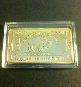 1-OZ-USA-Buffalo-In-God-We-Trust-Ingot-Finished-in-999-Fine-24k-Gold