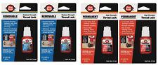 Thread Locker 6 Ml Blue Amp 6 Ml Red Pro Seal 4 Pc Proseal New In Package