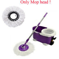 Household Magic Replacement Mop Head 360°Spin Cleaning Microfiber Mop Head New