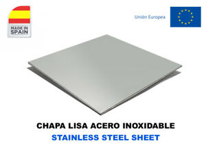CHAPA ACERO INOXIDABLE CORTADA A MEDIDA/ STAINLESS STEEL SHEET