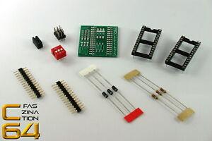 Faszination-C64-Universal-EPROM-Adapter-fuer-Commodore-64-1541-BAUSATZ-1911