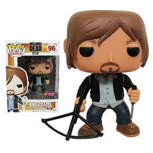 FUNKO POP BIKER DARYL DARYL DARYL 96 THE WALKING DEAD PX PRÉVISUALISATIONS EXCLUSIVE d9e24c