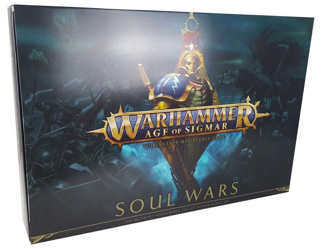 Soul Wars Age Of Sigmar NIP GW Games Workshop Nighthaunt Stormcast AoS Warhammer