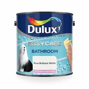 Anti Mould Paint Bathroom Soft Sheen Brilliant White Walls ...