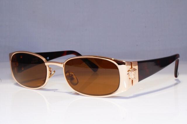 GIANNI VERSACE Mens Womens Vintage 1990 Sunglasses Gold MOD S99 COL 86M 25926