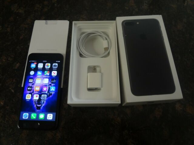 Excellent Condition Apple iPhone 7 Plus 128GB Black T-Mobile A1784 FREE SHIPPING