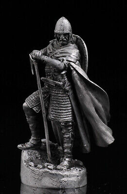 54mm England Battle of Hastings 1:32 Scale Tin Soldier Anglo-Saxon knight